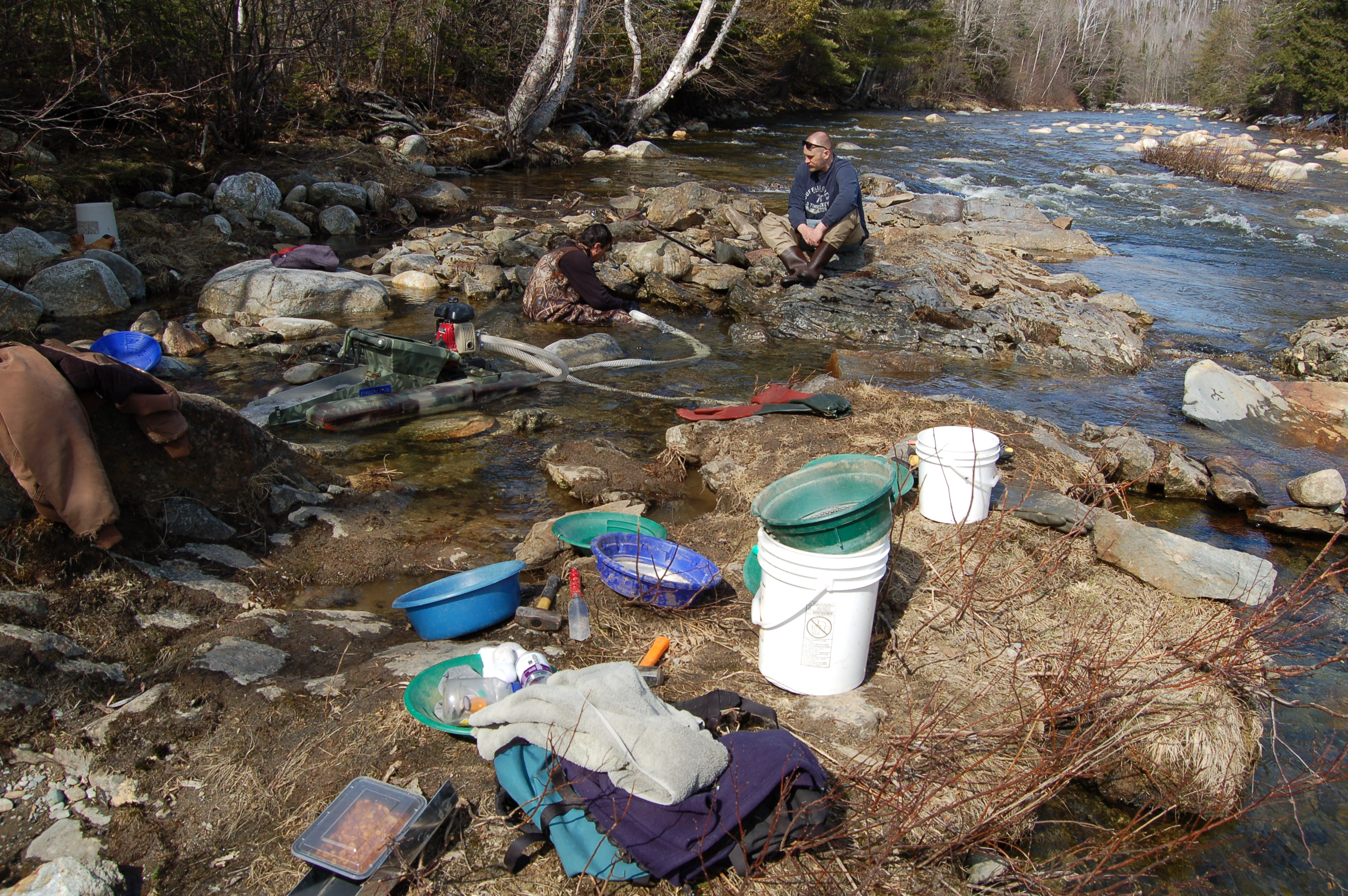 Finding Gold In Maine American Gold Prospecting Adventures