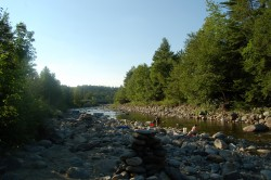The Wild Ammonoosuc River in Bath NH